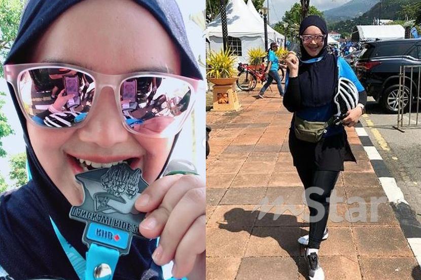Sebelum Mula Saya Jatuh Bodo Luka Lutut Siti Nurhaliza Kongsi Pengalaman Berbasikal 72 Km Hiburan Mstar