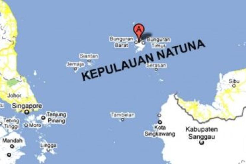 Kepulauan Natuna Bergeografikan Malaysia Berdaulatkan Indonesia Rencana Mstar
